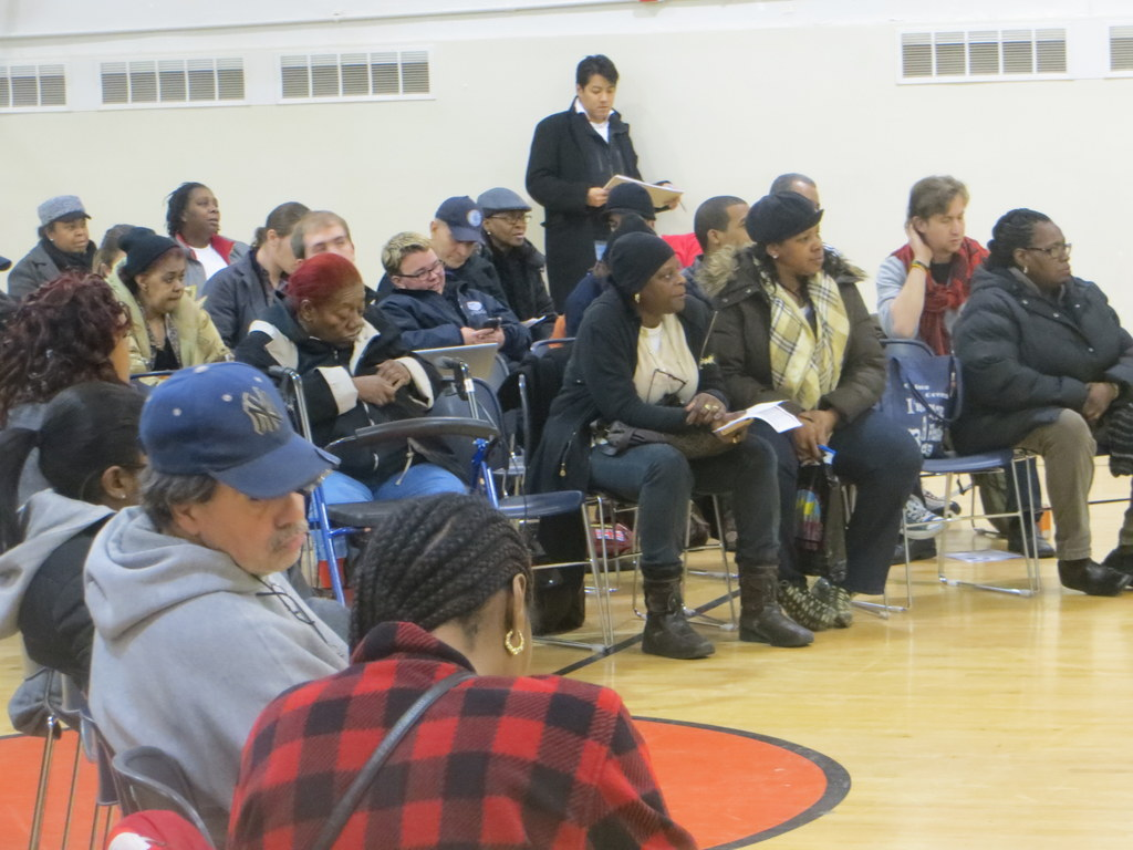 Strength in numbers confront NYCHA, by Nic Cavell