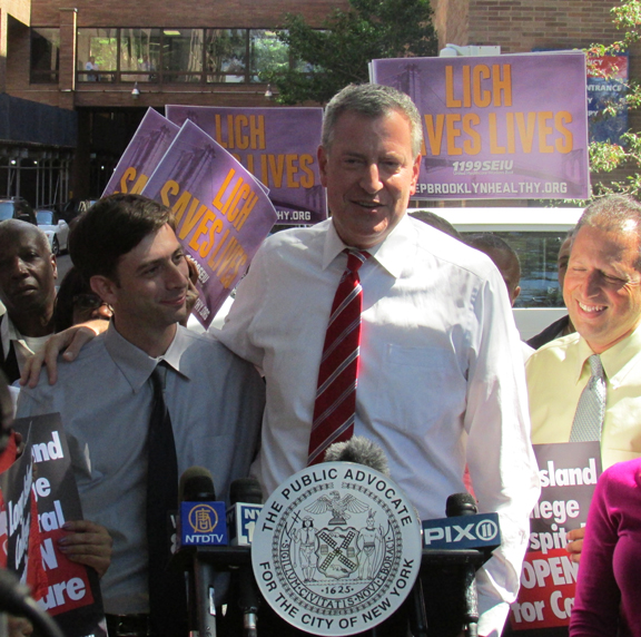 De Blasio announces newest and greatest SUNY/LICH court order yet, by George Fiala