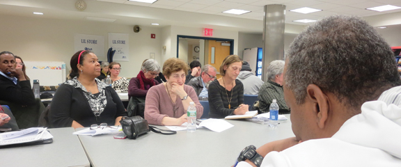 Red Hook Coalition holds  first-ever public meeting,  by George Fiala