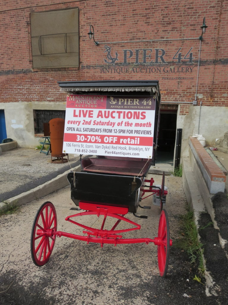 Red Hook's auction house, by George Fiala