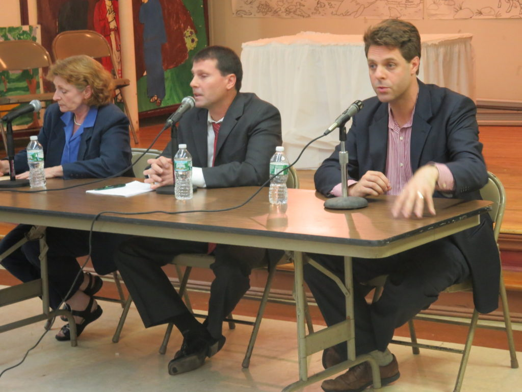 Assembly candidates square off in series of debates, by George Fiala