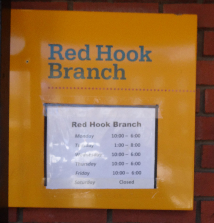 Red Hook Library gets expanded hours!