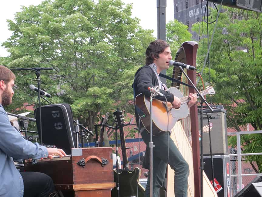 Barr Brothers stun Red Hook SummerStage, by George Fiala