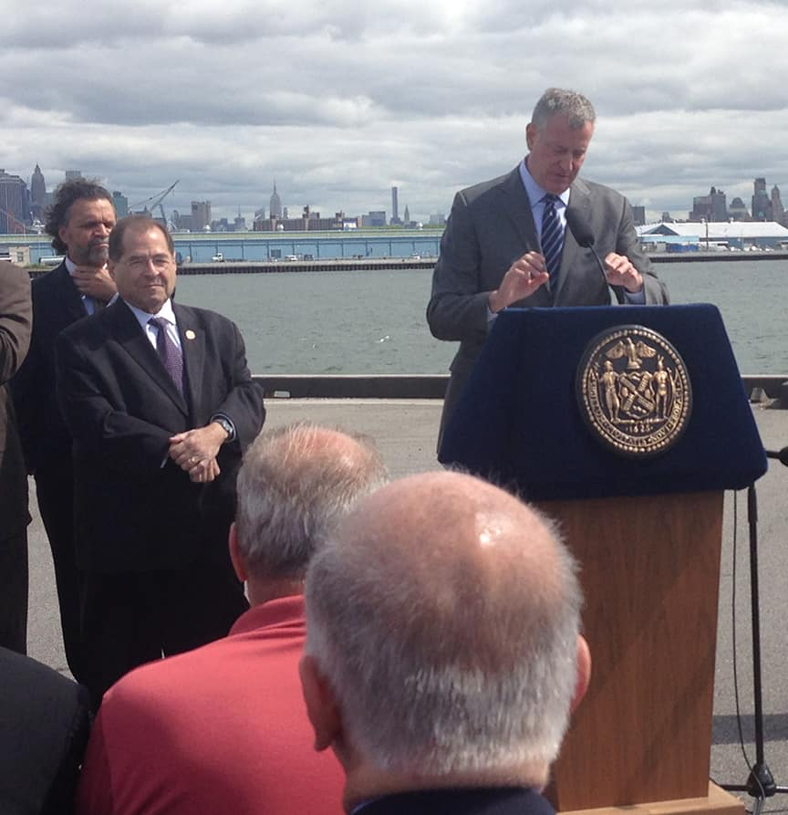 Red Hook Containerport gains important government support, by George Fiala