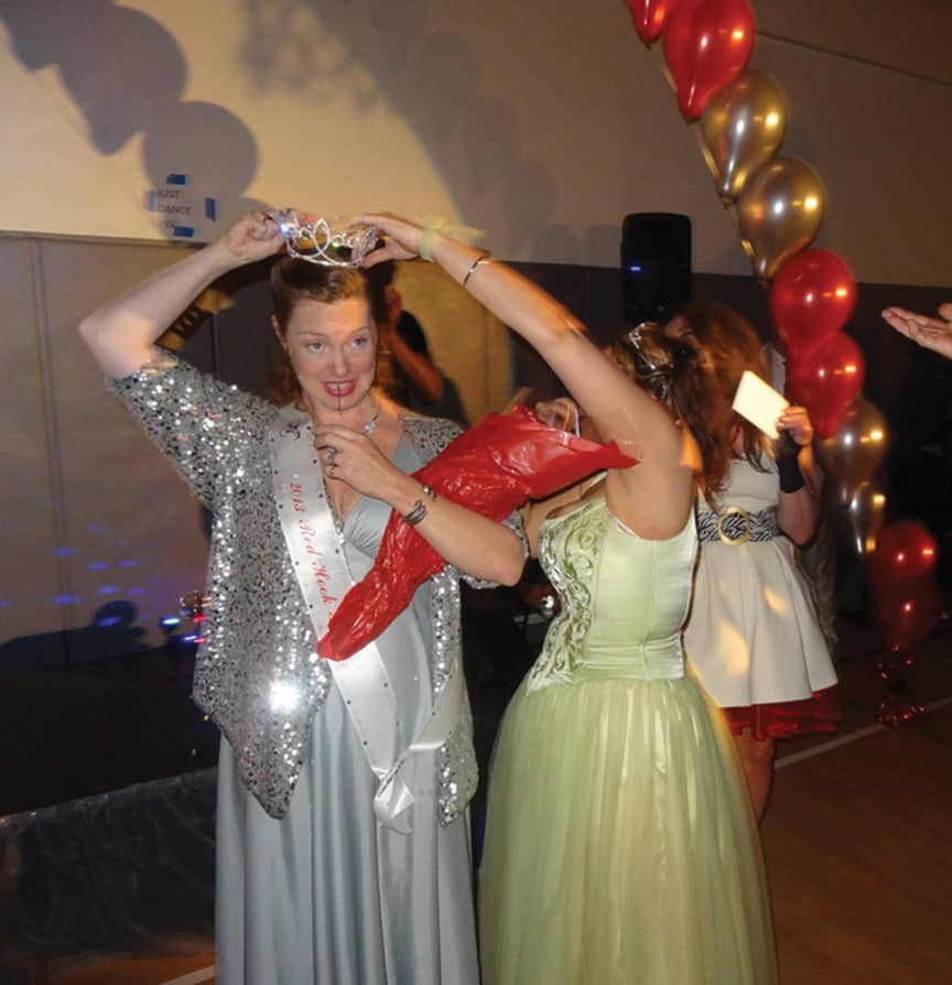 Battle of the Decades at Cora's Red Hook Prom, by Mary Staub