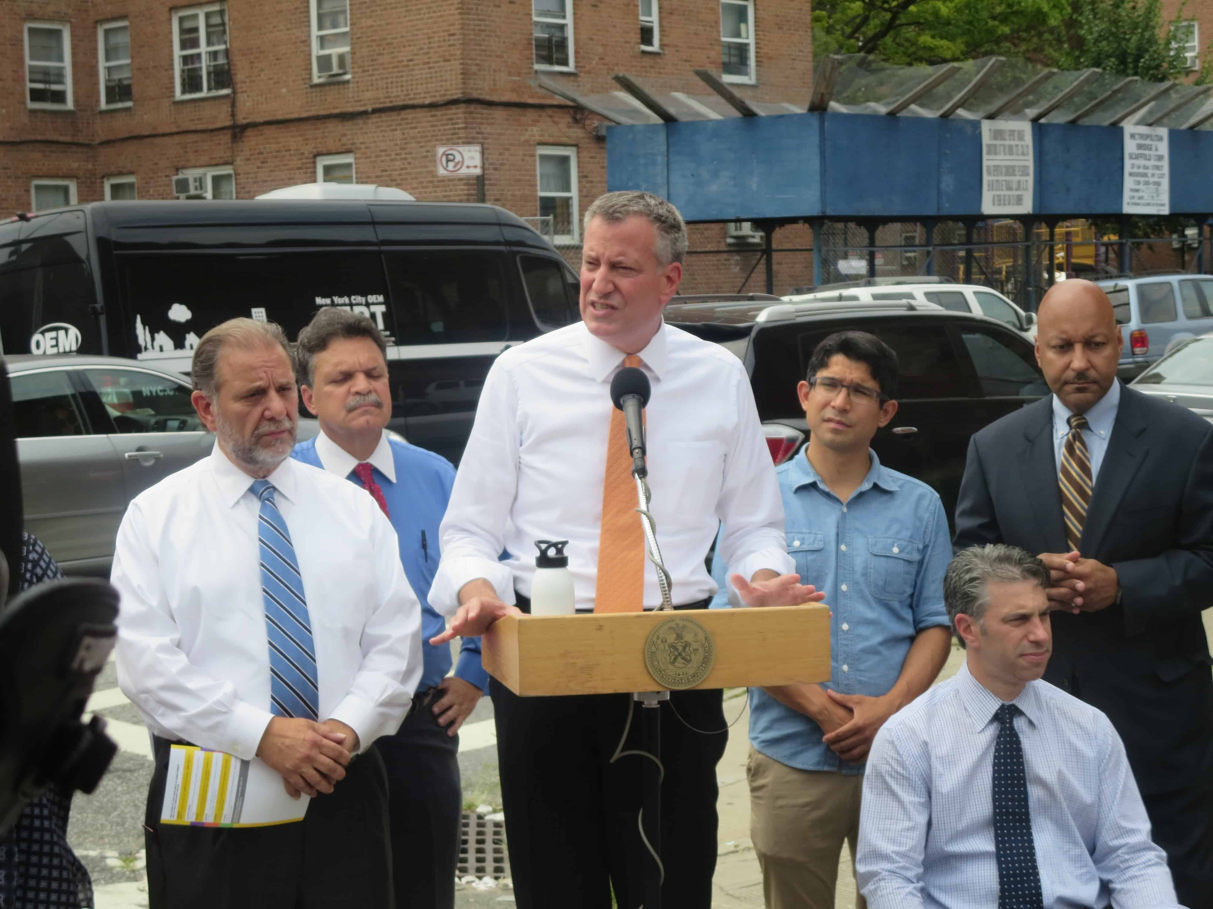 Opinion: De Blasio gets ever smaller, by George Fiala